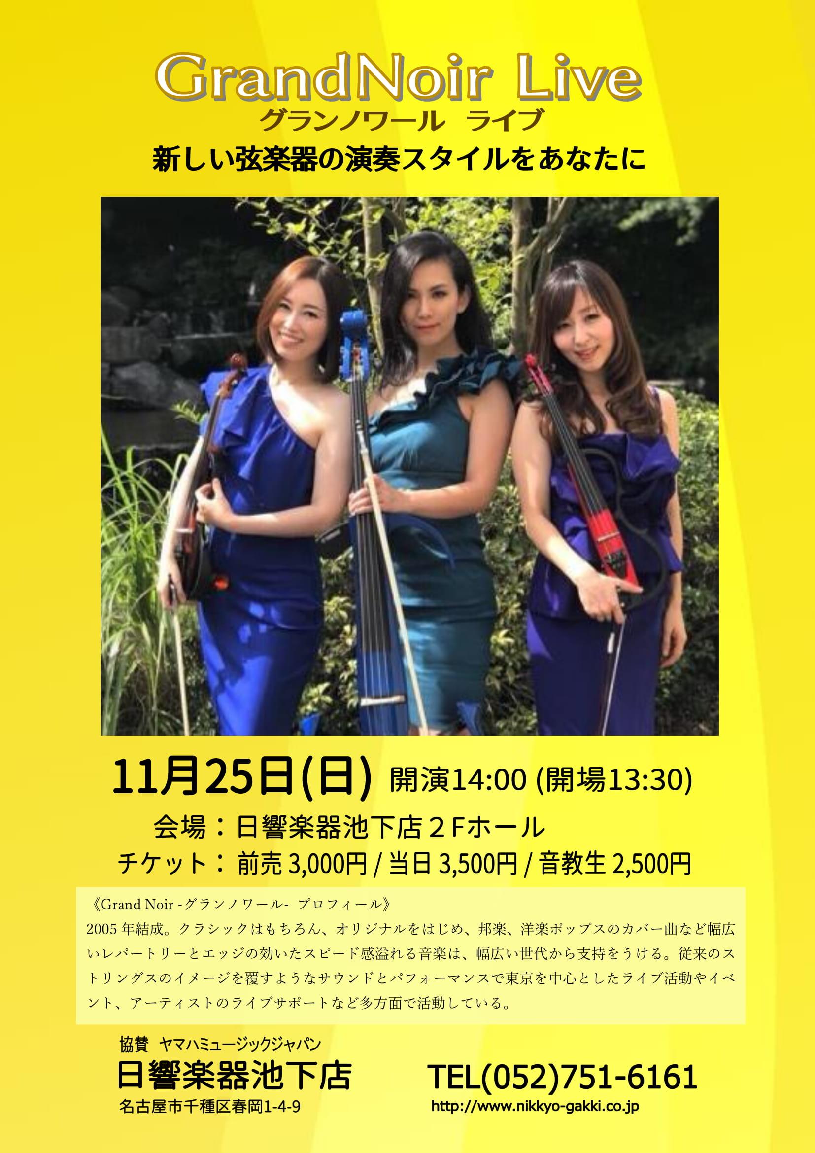11月25日バイオリンコンサートチラシ-1