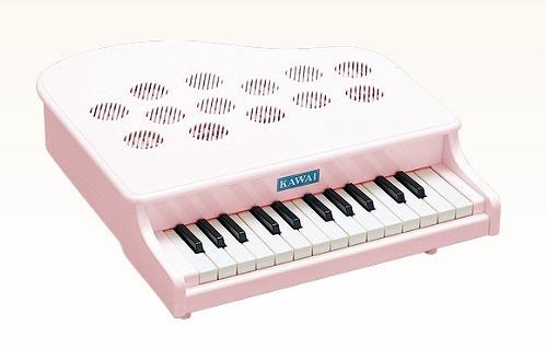 KAWAI ミニピアノ ピンキッシュホワイト 1108